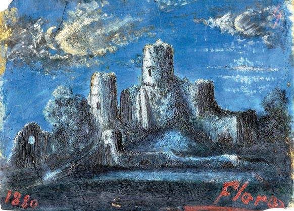 Gabriele D'Annunzio, Chiaro di luna