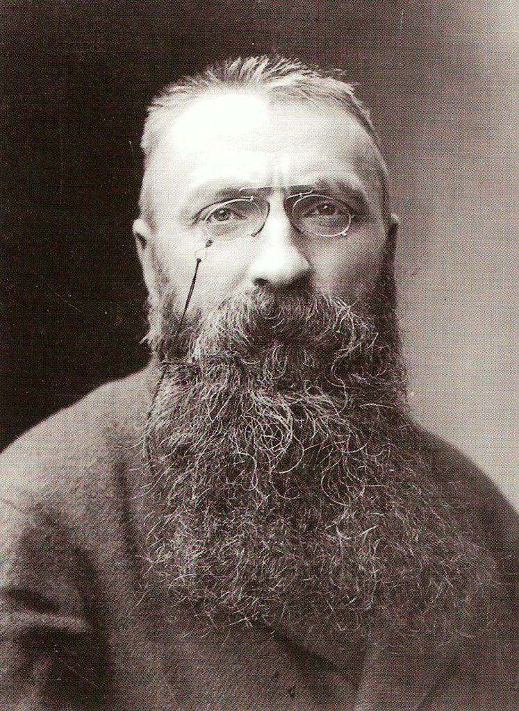 Auguste Rodin fotografato da Nadar nel 1891