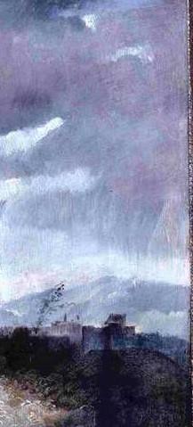 """Ritratto di Gentiluomo (detto """"Cesare Borgia""""), particolare, Accademia Carrara, Bergamo"""