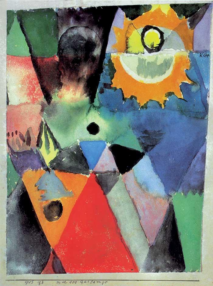 Paul Klee, Con la lampada a gas