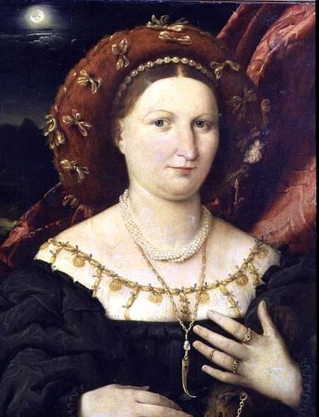 L.LOTTO, Ritratto di Lucina Brembati, 1518 ca, cm.52.6 x 44.8, olio su tela, Bergamo, Accademia Carrara