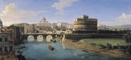 Un'opera romana di Vanvitelli. Il rilevamento preparatorio avvenne attraverso l'uso di strumenti ottici