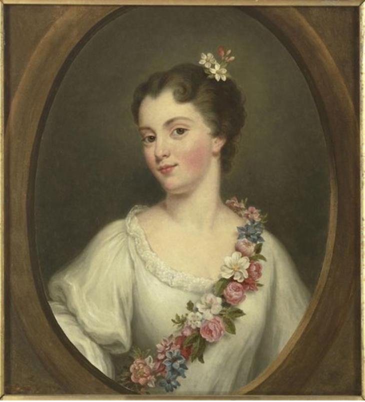 Un composto ritratto della principessa