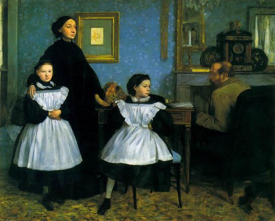 Degas, La famiglia Bellelli