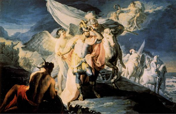 """Francisco Goya, """"Annibale vincitore, che rimira per la prima volta dalle Alpi l'Italia"""", l'opera con la quale partecipò e perse al concorso italiano"""