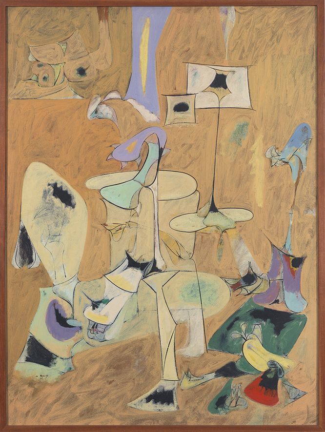 Arshile Gorky The Betrothal, II, 1947 Olio su tela, 128,9 x 96,5 cm   Whitney Museum of American Art, New York © 2013 The Arshile Gorky Foundation / Artists Rights Society (ARS), New York Digital Image © Whitney Museum of American Art