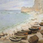 Claude Monet Bateaux à Etretat (Barche a Etretat), 1883 olio su tela, 65 x 81 cm Fondation Bemberg, Toulouse -France