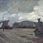 Claude Monet La gare d'Argenteuil (La stazione di Argenteuil), 1872 olio su tela, 47,5 x 71 cm © Conseil Général du Val-d'Oise -F-/photo J-Y Lacôte