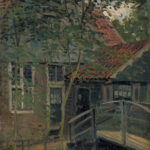 Claude Monet Passerelle à Zaandam, 1871 olio su tela, 47 x 38 cm Cliché P. Tournier, Musées de Mâcon