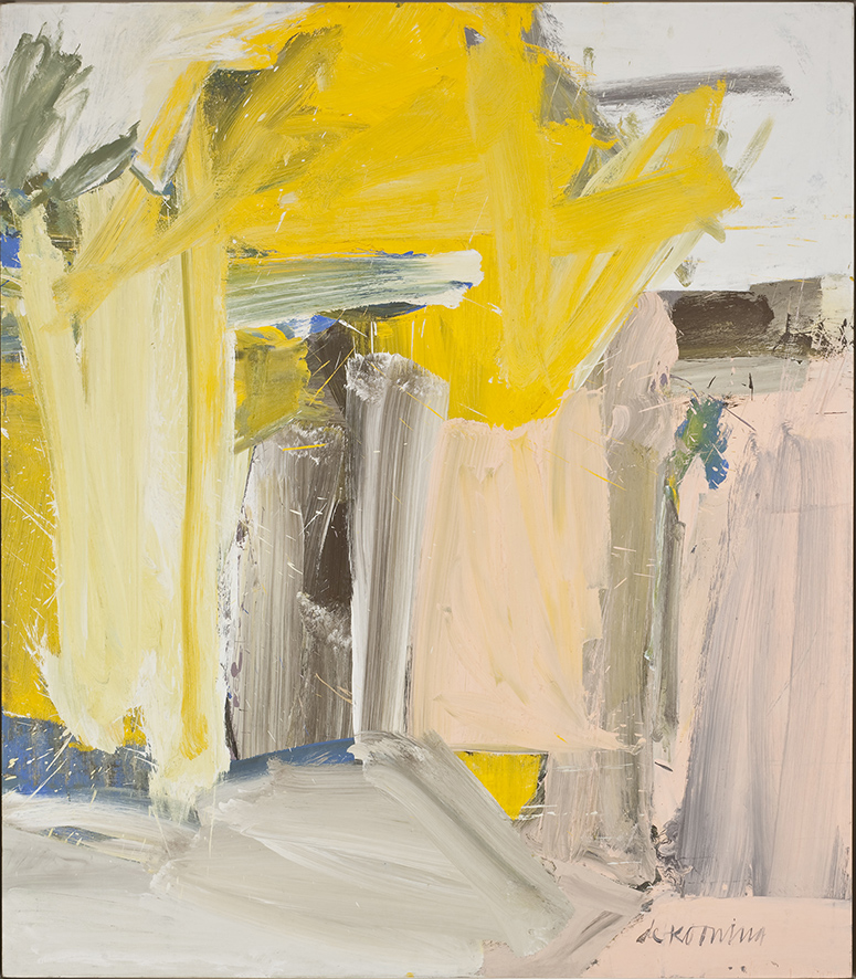 Willem de Kooning Door to the River, 1960 Olio su tela, 203,5 x 178,1 cm Whitney Museum of American Art, New York; purchase, with funds from the Friends of the Whitney Museum of American Art 60.63 © 2013 The Willem de Kooning Foundation / Artists Rights Society (ARS), New York  Foto di Sheldan C. Collins