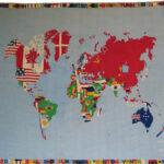 Alighiero Boetti, Mappa, 1971-73. Foto Roberto Galasso, Courtesy Fondazione MAXXI