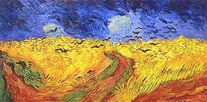 Van gogh il malessere impresso nei campi di grano stile for La citta con il museo van gogh