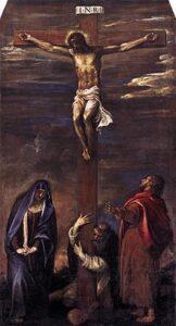 Tiziano, Crocifissione. Chiesa di San Domenico