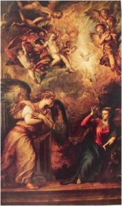 Tiziano, Annunciazione. Chiesa di San Salvador