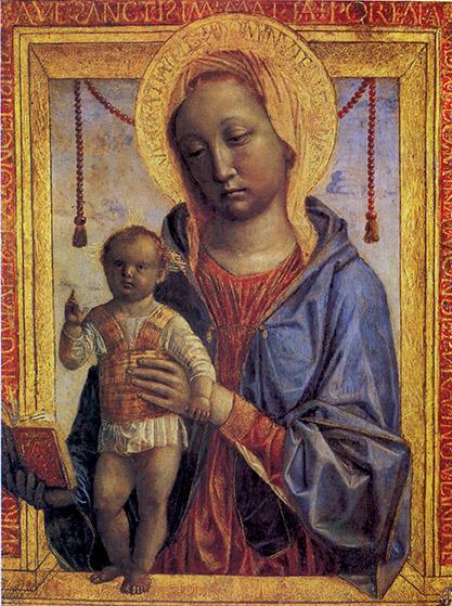 Vincenzo Foppa, Madonna del libro