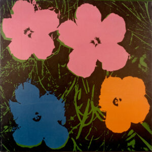 Andy Warhol Fiori Olio su tela, 1964 UniCredit Art Collection © The Andy Warhol Foundation for the Visual Arts Inc., by SIAE 2013
