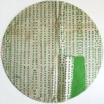 Shozo Shimamoto, Untitled, anni '50, tecnica mista su carta, 45x45,2 cm