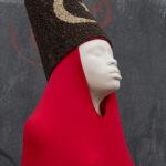 Maïmouna Patrizia Guerresi Spicy Red Dress (particolare), 2013 likra, ferro, resina, pepe, 20 x 106 x 106 cm © Maïmouna Guerresi