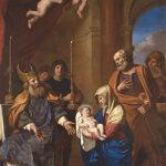 Giovan Francesco Barbieri, detto il Guercino, La purificazione della Vergine, 1654, olio su tela, Ferrara, Santa Maria della Pietà