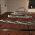 Maïmouna Patrizia Guerresi The Giants of Rooms, 2008 installazione, acciaio, alluminio Filatoio di Caraglio, Cuneo, Italia © Maïmouna Guerresi