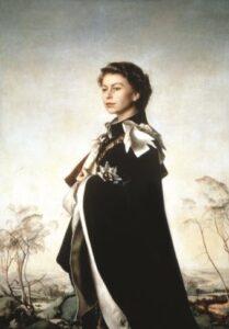 Pietro Annigoni, Ritratto di Elisabetta d'Iinghilterra