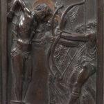 Donatello, Martirio di San Sebastiano, 1445-1450, rilievo in bronzo, cm 27,1 x 16. Paris, Musée Jacquemart-André – Institut de France © Culturespaces - Musée Jacquemart-André