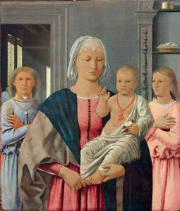 La Madonna di Senigallia di Piero della Francesca