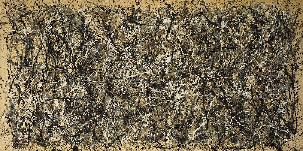 Jackson Pollock - One- Number 31, 1950