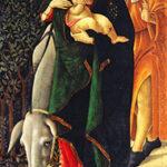Sandro Botticelli (Firenze, 1445-1510) La fuga in Egitto 1510, olio su tela. Paris, Musée Jacquemart-André – Institut de France © Culturespaces - Musée Jacquemart-André, già collezione Stefano Bardini