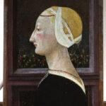 Giovanni di Ser Giovanni detto Scheggia (1406-1486) Ritratto di donna, 1450-1460, olio su tela. Paris, Musée Jacquemart-André – Institut de France  © Culturespaces - Musée Jacquemart-André