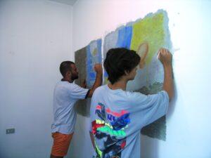 affresco pittura a fresco
