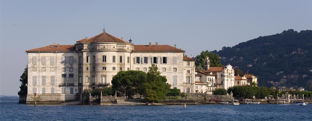 Veduta del Palazzo Borromeo, Isola Bella