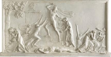 Gesso di Canova in frantumi durante un trasferimento-mostra - Stile Arte