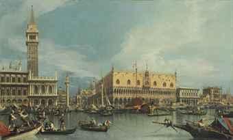 L'opera di Canaletto venduta a Londra