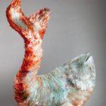 Marta Klonowska The Fish, 2013 vetro cm 80x110x6