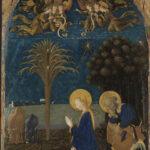 Paolo Uccello, Natività con San Girolamo, Santa Maria Maddalena e Sant'Eustachio, Kunsthalle, Karlsruhe