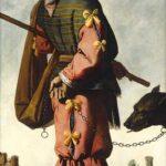 Zurbarán, XII Beniamino, anni Quaranta del Seicento Olio su tela, cm 198 x 102. Collezione privata