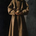 Zurbarán, San Francesco, c. 1635 Olio su tela, cm 204,8 x 113,4. Milwaukee Art Museum