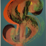 Andy Warhol, Dollar Sign, 1981 Collection Museum of Modern and Contemporary Art, Nice © 2013 The Andy Warhol Foundation for the Visual Arts, Inc. / Artists Rights Society (ARS), New York, by SIAE