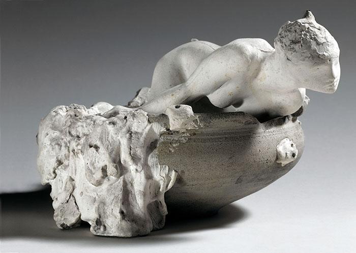Auguste Rodin La piccola fata delle acque, Maquette 1903 © Musée Rodin, Parigi. Foto di Christian Baraja
