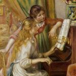 Ragazze al piano, 1892 Olio su tela; 116 x 90 cm Paris, Musée d'Orsay  (RF 755) © A. Koch/ Interfoto/ Archivi Alinari