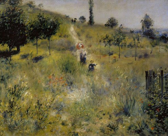 Sentiero nell'erba alta, 1876-1877 Olio su tela; 60 x 74 cm Paris, Musée d'Orsay  (RF 2581) © Bridgeman/ Archivi Alinari