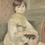 Julie Manet (anche detto Bambina con gatto), 1887 Olio su tela; 65,5 x 53,5 cm Paris, Musée d'Orsay  (RF 1999 13) © Hervé Lewandowski RMN-Réunion des Musées Nationaux/ Distr. Alinari