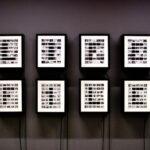 Amedeo Abello e Federico Morando, LIFE/FILE, lightbox e rullini fotografici, 24x34x10 (x 8 lightbox), 2013