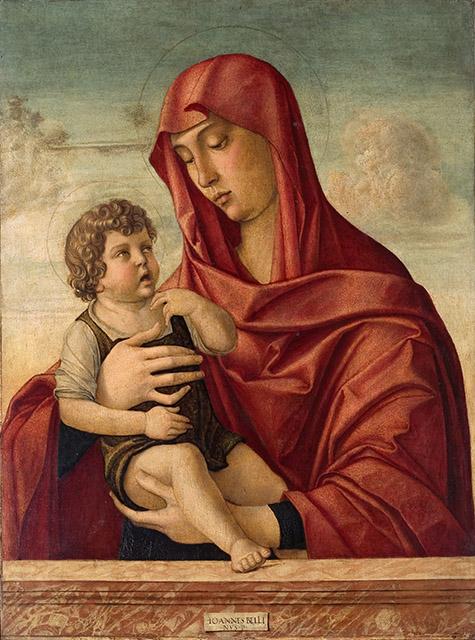 Bellini, Madonna col Bambino
