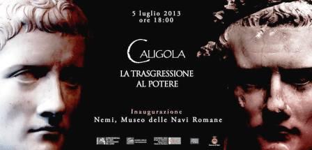 Caligola-Nemi copertina