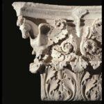 Capitello di lesena dal tempio di Marte Ultore Roma, Museo dei Fori Imperiali