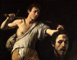 Caravaggio, Davide e Golia