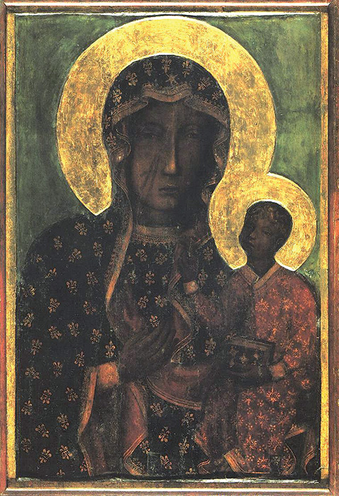 Czestochowa, Madonna nera