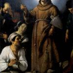 Il Beato Salvatore da Horta benedice gli infermi_strozzi